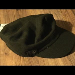 NWT Universal Thread wool green olive CADET HAT